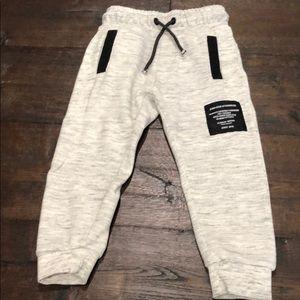 Zara kids gray joggers sweatpants